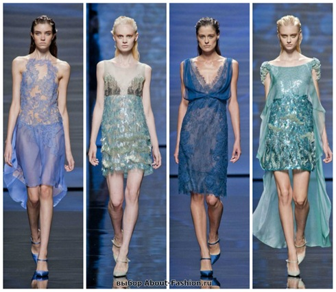 короткие летние платья 2013-3