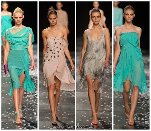 короткие летние платья 2013-30