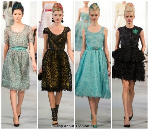 короткие летние платья 2013-31