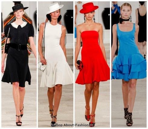короткие летние платья 2013-32