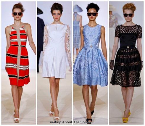 короткие летние платья 2013-33