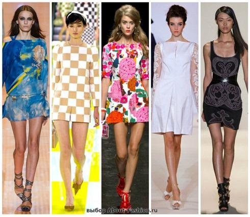 короткие летние платья 2013-39