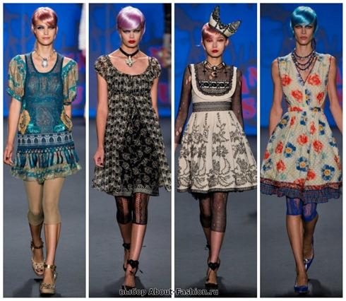 короткие летние платья 2013-4