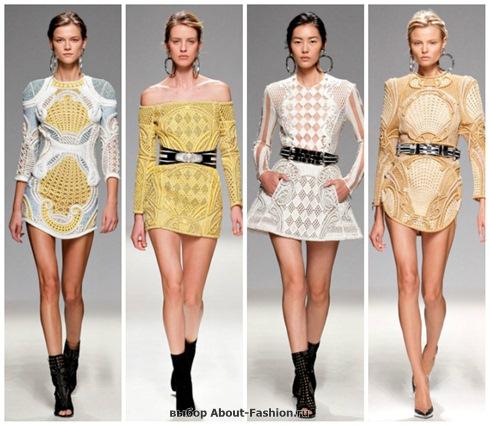 короткие летние платья 2013-7