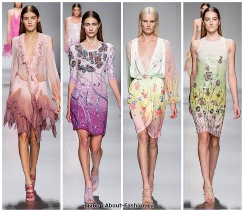 короткие летние платья 2013-8