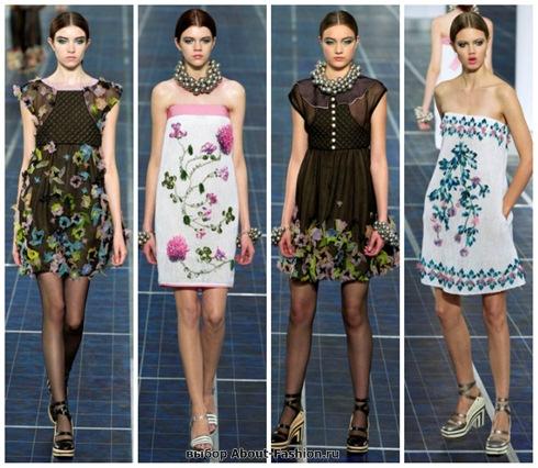 короткие летние платья 2013-9
