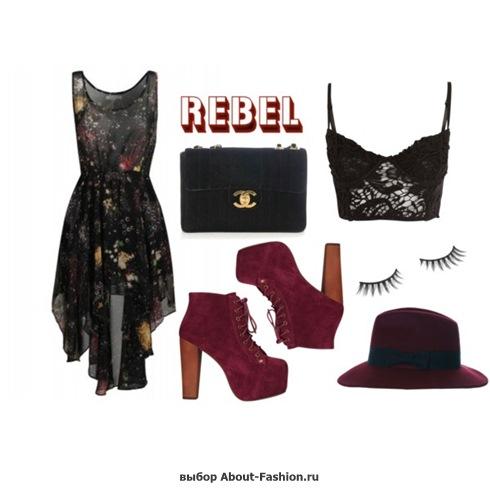 мода и стиль хипстера - 002