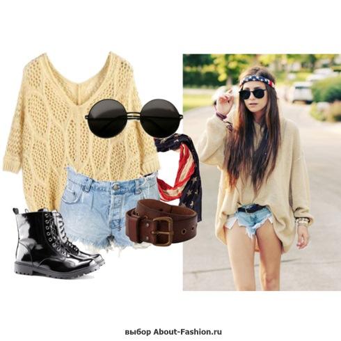 мода и стиль хипстера - 003