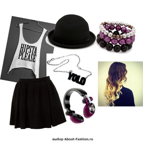 мода и стиль хипстера - 006