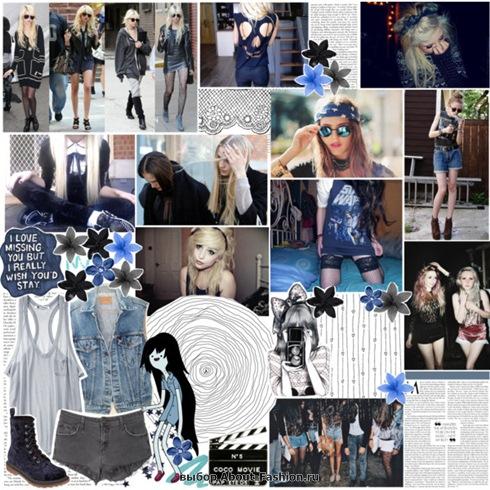 мода и стиль хипстера - 013