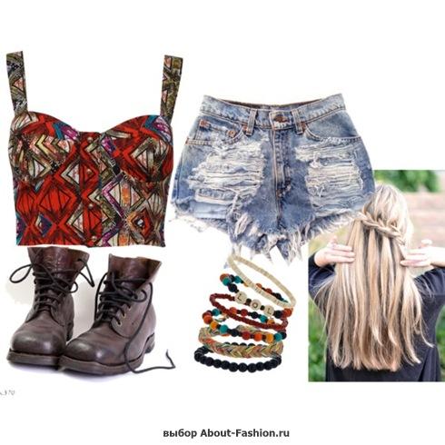 мода и стиль хипстера - 027