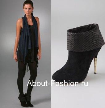 мода зима 2010