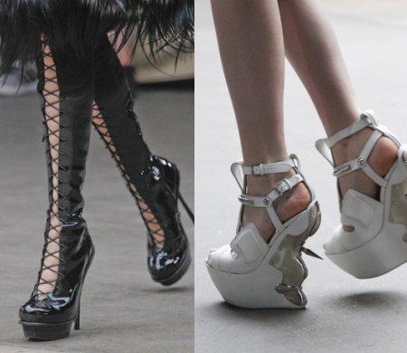 модная обувь Alexander McQueen