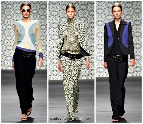модные брюки 2013-13