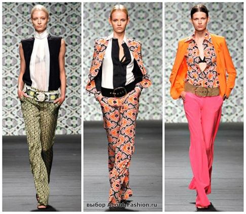 модные брюки 2013-14