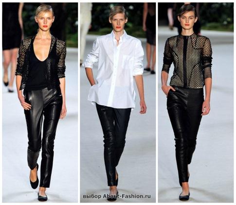 модные брюки 2013-2