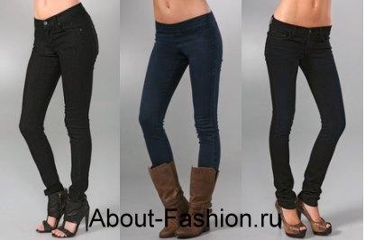 модные джинсы 2010-1