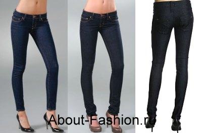 модные джинсы 2010-2