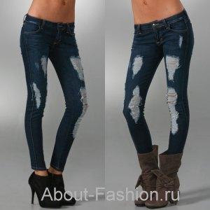 модные джинсы 2010-4