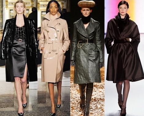 модные плащи и пальто 2013 -002