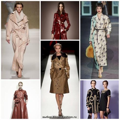 модные плащи осень-зима 2013-2014