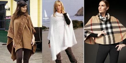 модные пончо 2013 -002