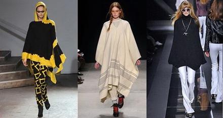 модные пончо 2013 -003
