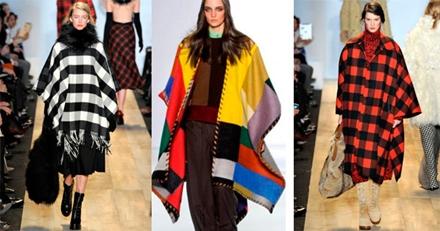 модные пончо 2013 -004