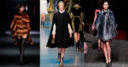 модные пончо 2013 -005