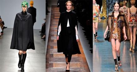 модные пончо 2013 -007