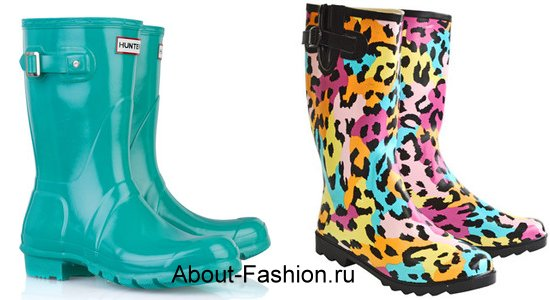 модные резиновые сапоги-2011-1
