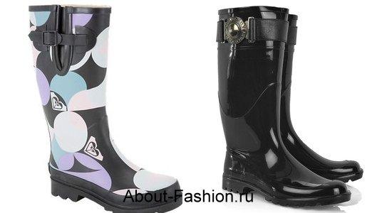 модные резиновые сапоги-2011-2