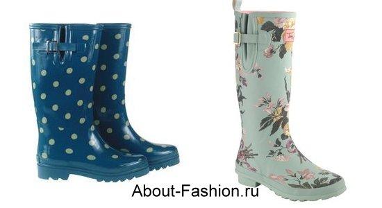 модные резиновые сапоги-2011-3