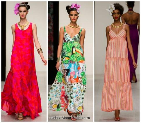 модные сарафаны 2013-17
