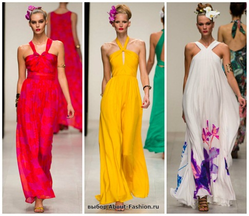 модные сарафаны 2013-18