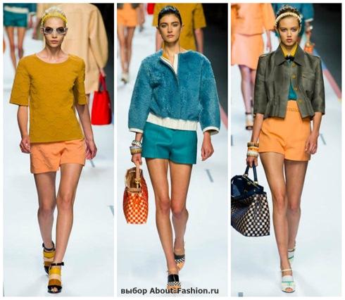 модные шорты 2013-11
