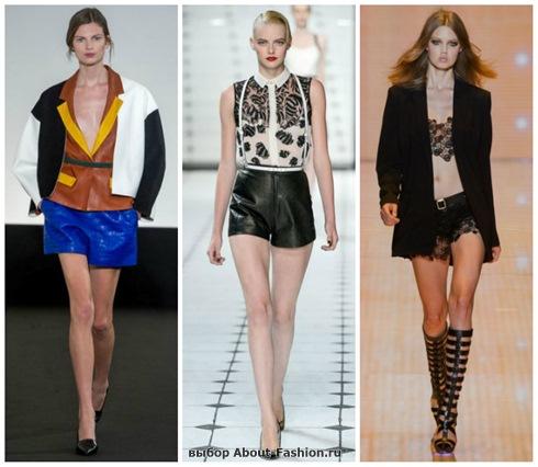 модные шорты 2013-15