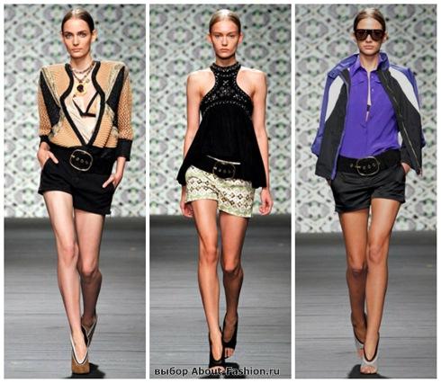 модные шорты 2013-16