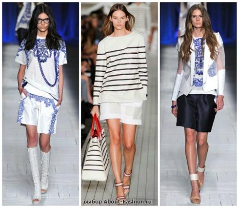модные шорты 2013-19