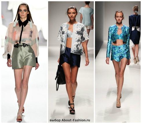 модные шорты 2013-2