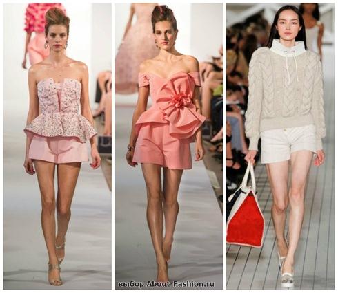 модные шорты 2013-20