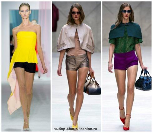 модные шорты 2013-5