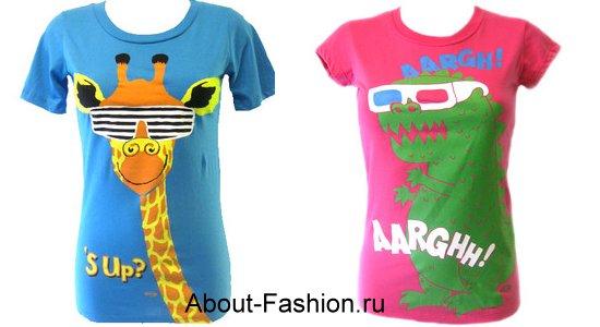 модные топы майки туники зима 2011-1
