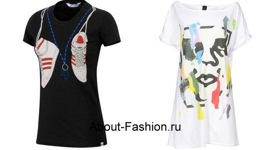модные топы майки туники зима 2011-4
