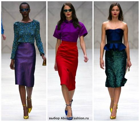 модные юбки 2013-14