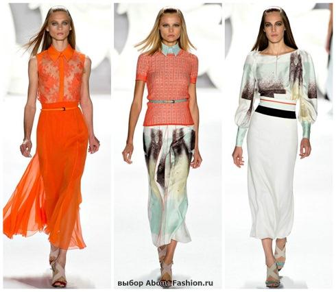 модные юбки 2013-15
