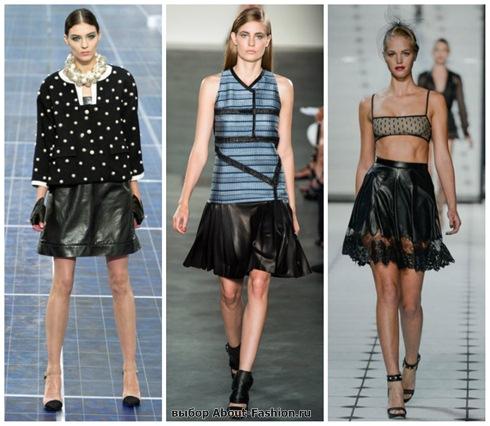 модные юбки 2013-16