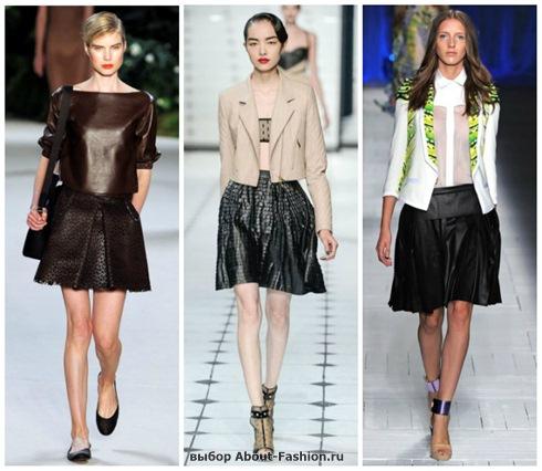 модные юбки 2013-17