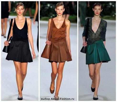 модные юбки 2013-2
