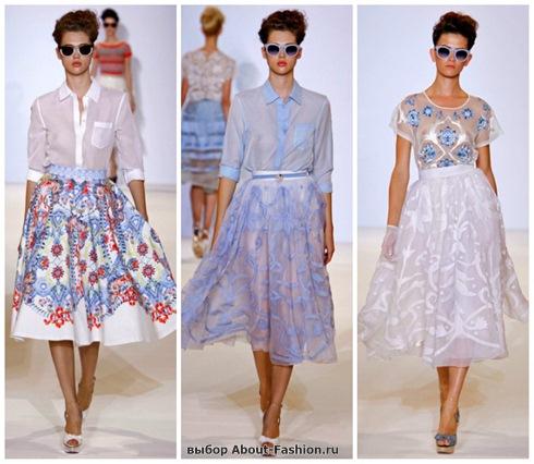 модные юбки 2013-47